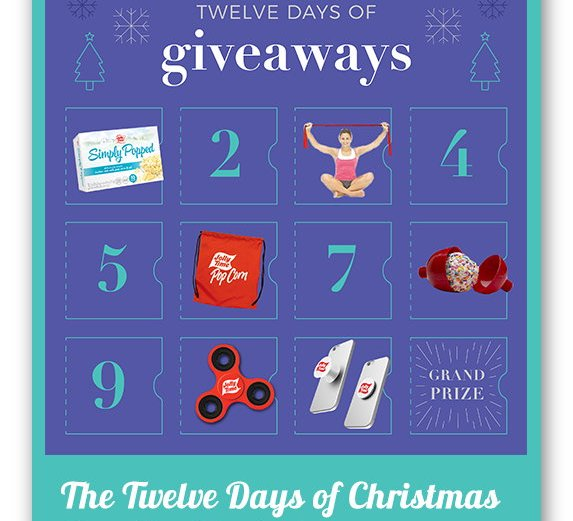 Jolly Time Popcorn Twelve Days of Giveaways