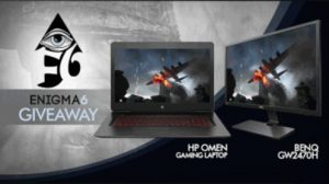 HP OMEN Gaming Laptop And BenQ Monitor Giveaway
