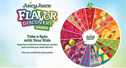 Juicy Juice Flavor Discovery Instant Win Game (85 winners) - Ends April 30th