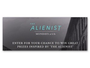 The Alienist Swag Sweepstakes