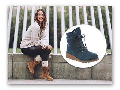 Win Krista Boots from Bear Paw
