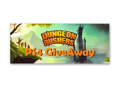 Win Dungeon Rushers Game Code for PS4