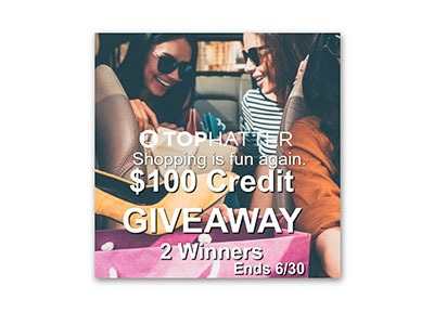 Tophatter Shopping Is Fun Again $100 Credit Giveaway