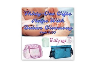 Thirty-One Gifts Helps With Babies Giveaway
