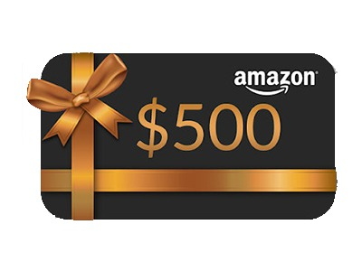Win a $500 Amazon Gift Card
