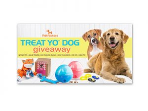 PetFactors Treat Yo' Dog Giveaway