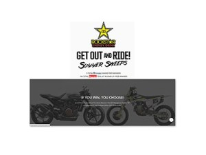 Rockstar Get Out and Ride Sweepstakes