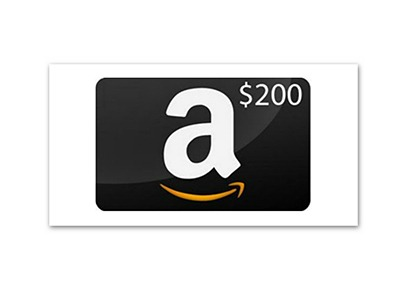 $200 Amazon Gift Card Giveaway - Ends August 31st