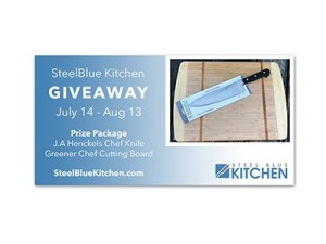 Win a J.A. Henckels Chef Knife and Greener Chef Cutting Board