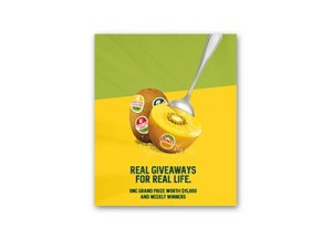 Zespri Kiwi Real Giveaways for Real Life