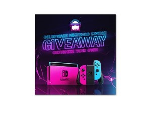 ColorWare Nintendo Switch Giveaway