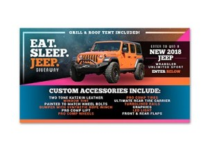 Eat, Sleep, Jeep Giveaway
