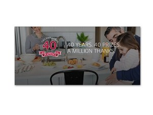 LG Life's Good at 40 Sweepstakes