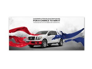Win a Customized Nissan Titan Truck