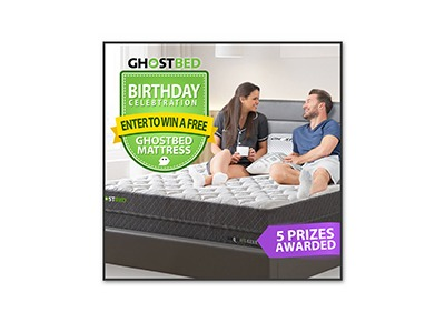 Ghost Bed Mattress Giveaway