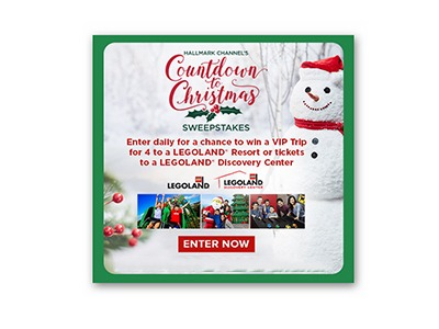 Hallmark Countdown to Christmas Sweepstakes
