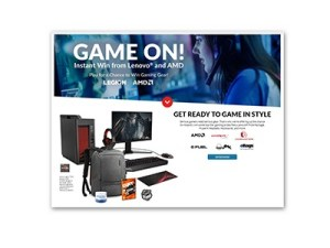 Lenovo Legion Power Instant Win Game