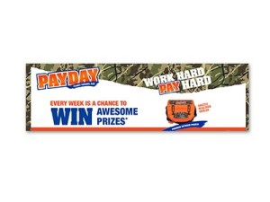 PayDay Work Hard Play Hard Sweepstakes