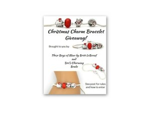 Christmas Charm Bracelet Giveaway