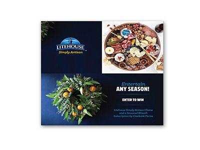 LITEHOUSE Holiday Sweepstakes