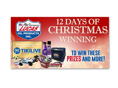 Lucas Oil 12 Days of Christmas Giveaway