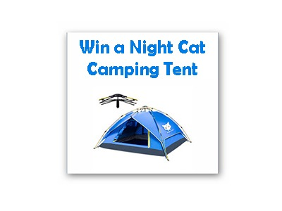 Win a Night Cat Camping Tent