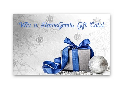 Win a $100 HomeGoods Gift Card