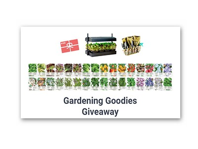 Win an Indoor Gardening Prize Pack