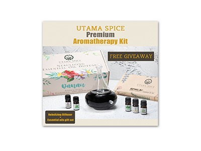 Win the Utama Spice Premium Aromatherapy Kit