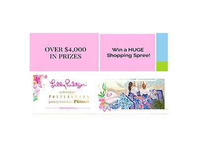 Lilly Pulitzer for Pottery Barn Sweepstakes