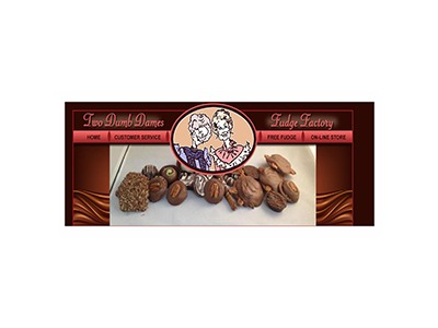 Two Dumb Dames Free Fudge Giveaway