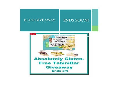 Absolutely Gluten Free TahiniBar Giveaway
