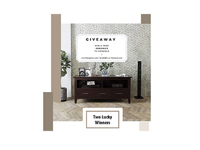 SONGMICS TV Console Giveaway