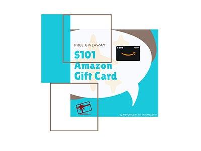 $101 Amazon Gift card Giveaway