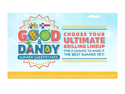 Good & Dandy Summer Sweepstakes - Ends July 31st - Golden Goose