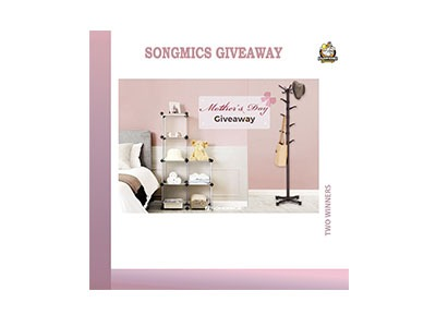 SONGMICS Mother's Day Giveaway