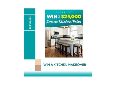 Win a Kitchen Makeover - Ends Jan 31st - Golden Goose Giveaways