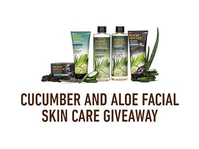 CUCUMBER AND ALOE SKIN CARE GIVEAWAY