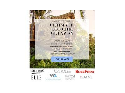 Playa Viva Eco Retreat Giveaway