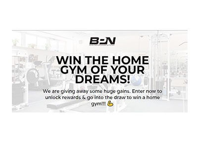 WIN A HOME GYM