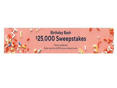 QVC Birthday Bash Sweepstakes