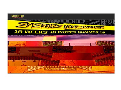 Rockstar Energize Your Summer Sweepstakes