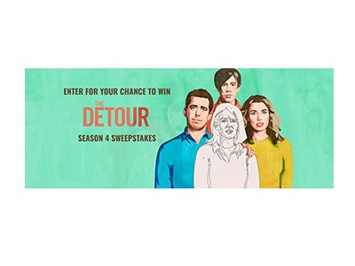 The Detour Season 4 Sweepstakes