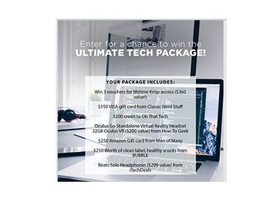 Ultimate Tech Package Sweepstakes