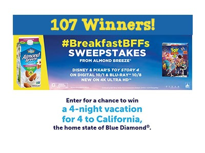 Breakfast BFFs Sweepstakes
