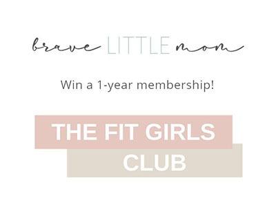 Win a 1 Year Fit Girls Club Membership
