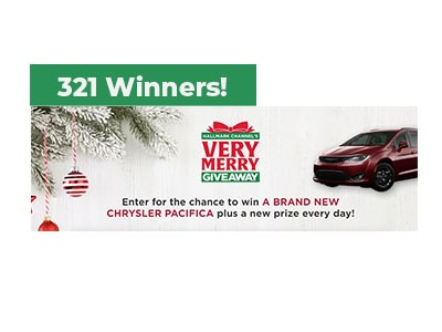 Hallmark Channel's Very Merry Giveaway