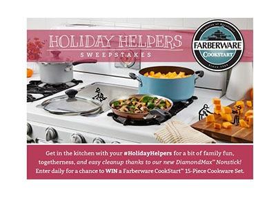 Farberware Holiday Helpers Sweepstakes