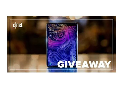 CNET Samsung Galaxy Fold Sweepstakes
