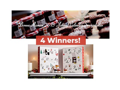 Bonne Maman 2019 Advent Calendar Sweepstakes